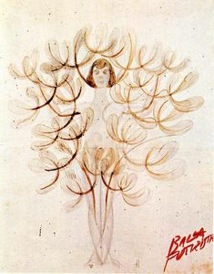 Giacomo Balla - Mimicry synoptic': the tree-woman or woman-flower