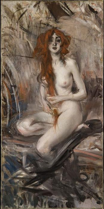 famous painting Nude of Giovanni Boldini