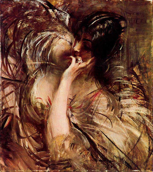 famous painting The Bouse of Voile of Giovanni Boldini