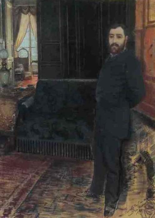 famous painting Self Portrait of Giuseppe De Nittis