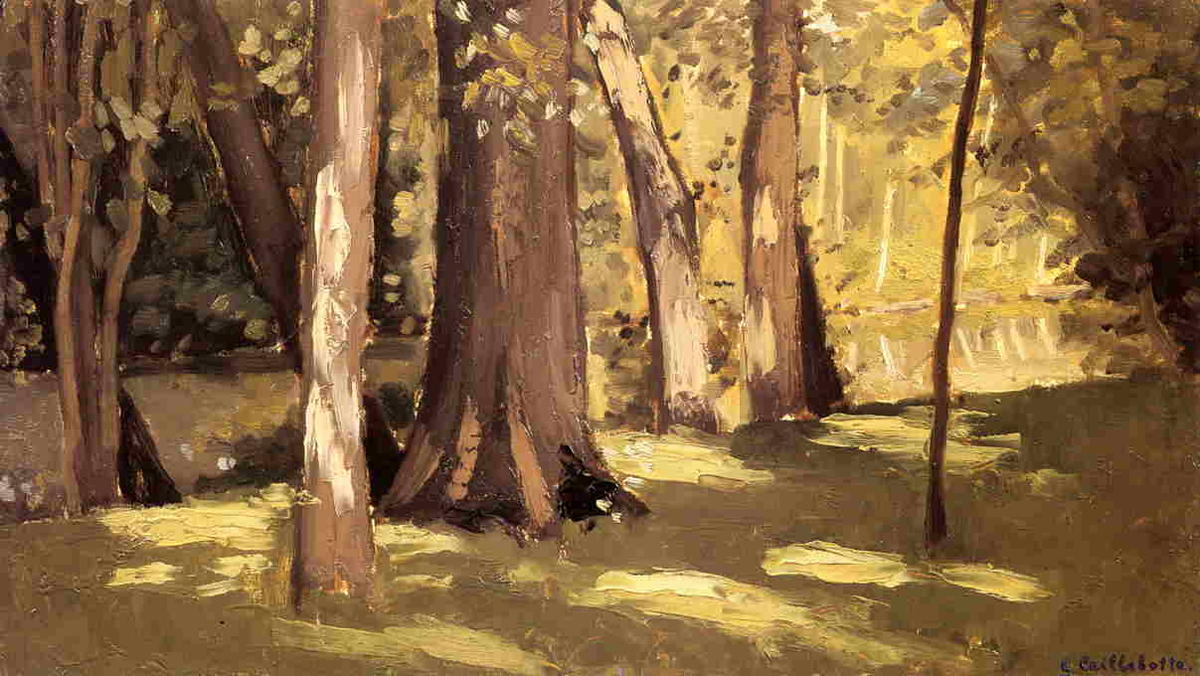 famous painting The Yerres, Effect of Ligh of Gustave Caillebotte