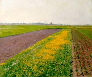Gustave Caillebotte - Plain of Gennevilliers