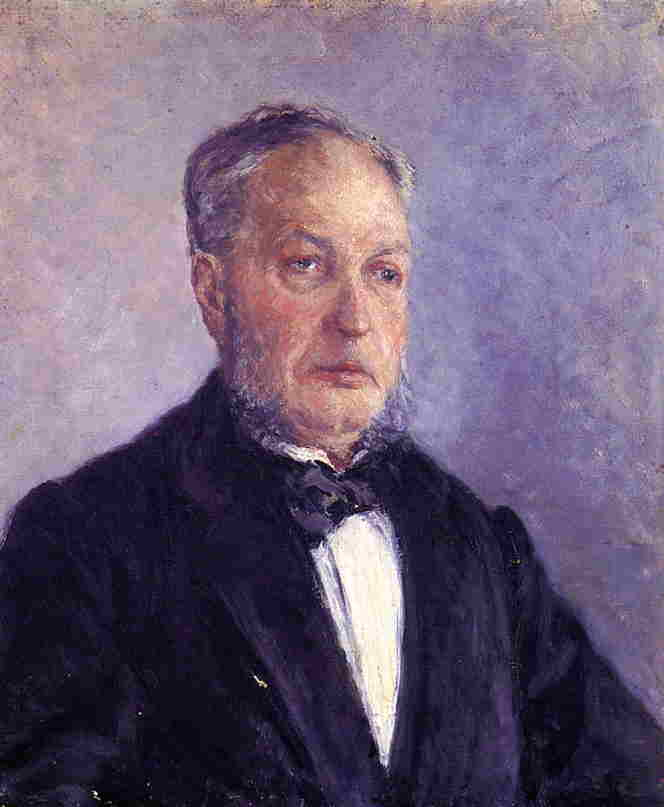 famous painting Portrait of Jean Daurelle of Gustave Caillebotte
