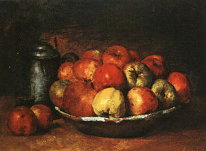 Gustave Courbet - Still Life with Apples and Pomegranates