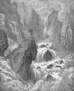 Paul Gustave Doré - In with the river sunk, and with it rose Satan