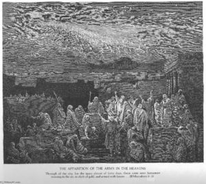 Paul Gustave Doré - The Army Appears in the Heavens