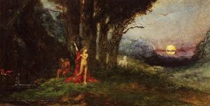 Gustave Moreau - Pasiphae and the Bul