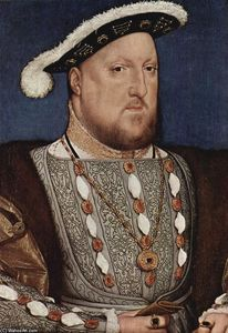 Hans Holbein The Younger - Portrait of Henry VIII, King of England