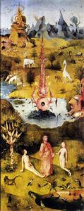 Hieronymus Bosch - The Garden of Earthly Delights (detail) (11)