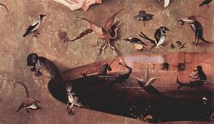 Hieronymus Bosch - The Garden of Earthly Delights (detail) (19)