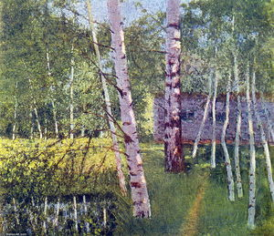 Igor Emmanuilovich Grabar - Birches in Summer