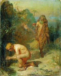 Ilya Yefimovich Repin - Diogenes and the boy