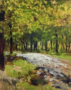 Isaak Ilyich Levitan - Path in the forest
