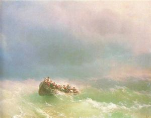 Ivan Aivazovsky - On the storm
