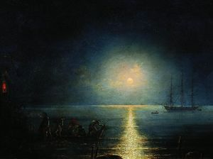 Ivan Aivazovsky - Smugglers