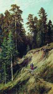 Ivan Ivanovich Shishkin - In the forest. From the forest with mushrooms