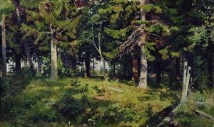Ivan Ivanovich Shishkin - Clearing in the forest