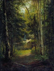 Ivan Ivanovich Shishkin - Hut in the the forest