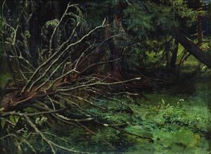 Ivan Ivanovich Shishkin - In the fir forest