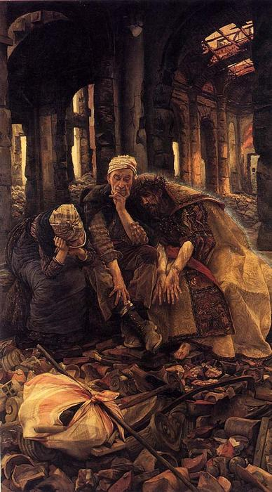 famous painting The Ruins (Inner Voices) of James Jacques Joseph Tissot