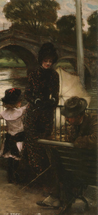 famous painting A Declaration of Love of James Jacques Joseph Tissot