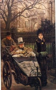 James Jacques Joseph Tissot - The Warrior's Daughter, or The Convalescent
