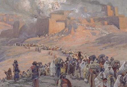famous painting The Flight of the Prisoners of James Jacques Joseph Tissot