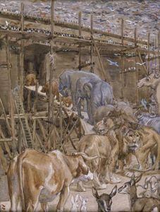 James Jacques Joseph Tissot - The Animals Enter the Ark
