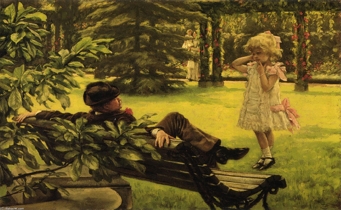 famous painting Uncle Fred of James Jacques Joseph Tissot