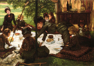 James Jacques Joseph Tissot - Children's Party