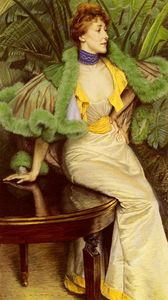 James Jacques Joseph Tissot - The Princesse De Broglie