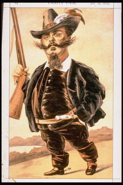 famous painting Caricature of Victor Emmanuel II of Italy of James Jacques Joseph Tissot
