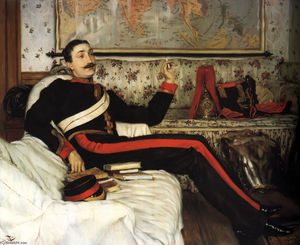James Jacques Joseph Tissot - Colonel Frederick Gustavus Barnaby