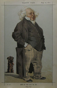 James Jacques Joseph Tissot - Caricature of Henry Cole