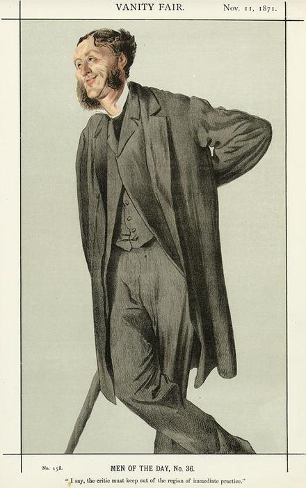 famous painting Caricature of Matthew Arnold of James Jacques Joseph Tissot