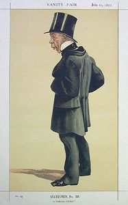 James Jacques Joseph Tissot - Caricature of Mr George Leeman M.P.
