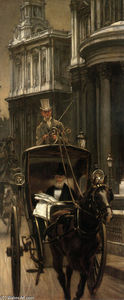 James Jacques Joseph Tissot - Going to Business