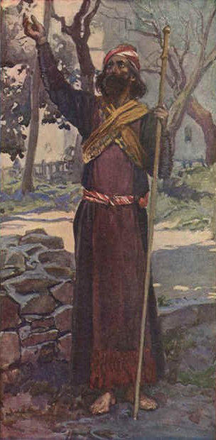 famous painting The Prophet Zechariah of James Jacques Joseph Tissot