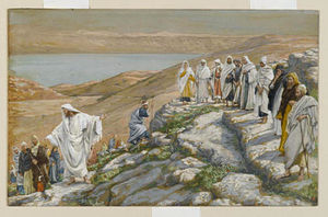 James Jacques Joseph Tissot - Ordaining of the Twelve Apostles