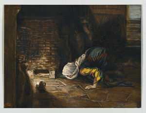 James Jacques Joseph Tissot - The Lost Drachma