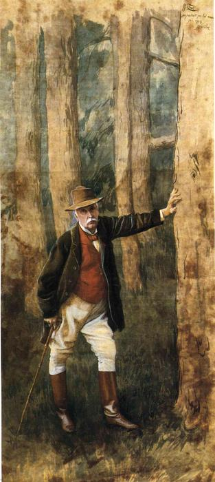 famous painting Self-Portrait of James Jacques Joseph Tissot