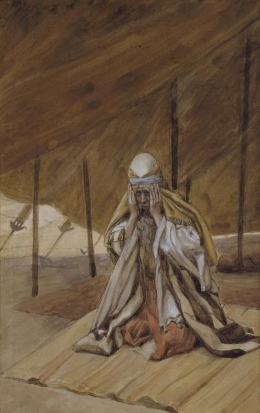 famous painting God Renews His Promises to Abraham of James Jacques Joseph Tissot