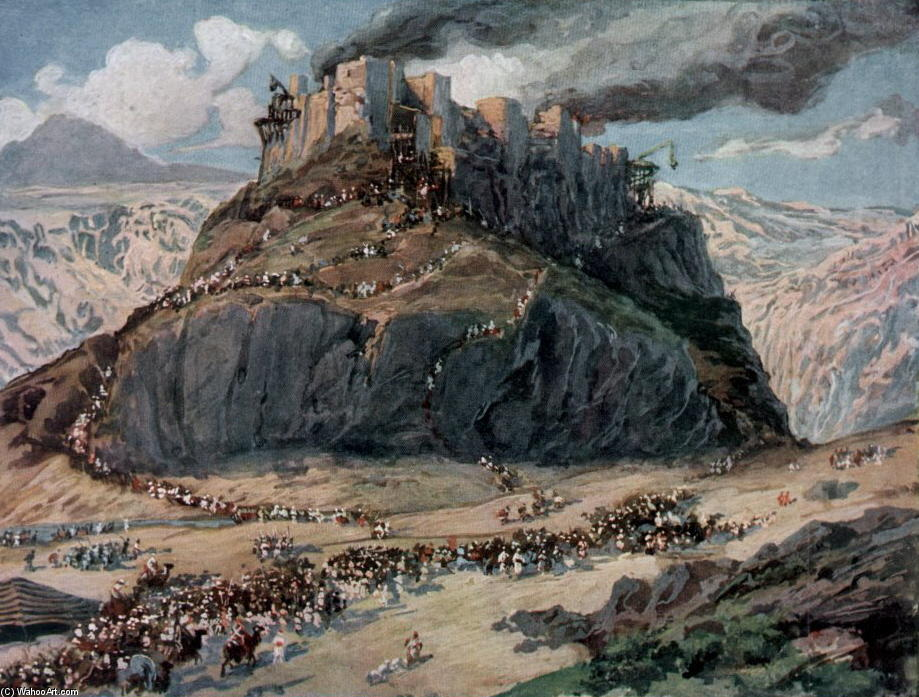 famous painting The Conquest of the Amorites of James Jacques Joseph Tissot