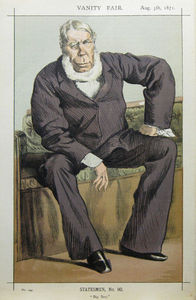 James Jacques Joseph Tissot - Caricature of George William Pierrepont Bentinck M.P.