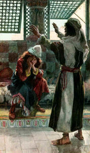 James Jacques Joseph Tissot - Nathan Rebukes David, as in 2 Samuel 120