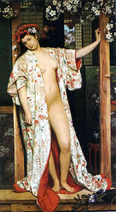 James Jacques Joseph Tissot - The Japanese Bath