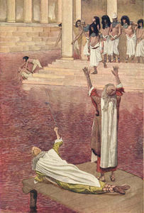James Jacques Joseph Tissot - Water Is Changed into Blood