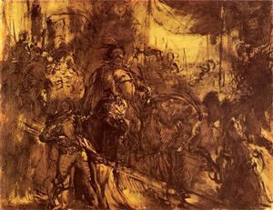 Jan Matejko - Jan III at Vienna