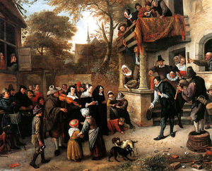 Jan Steen - A village wedding