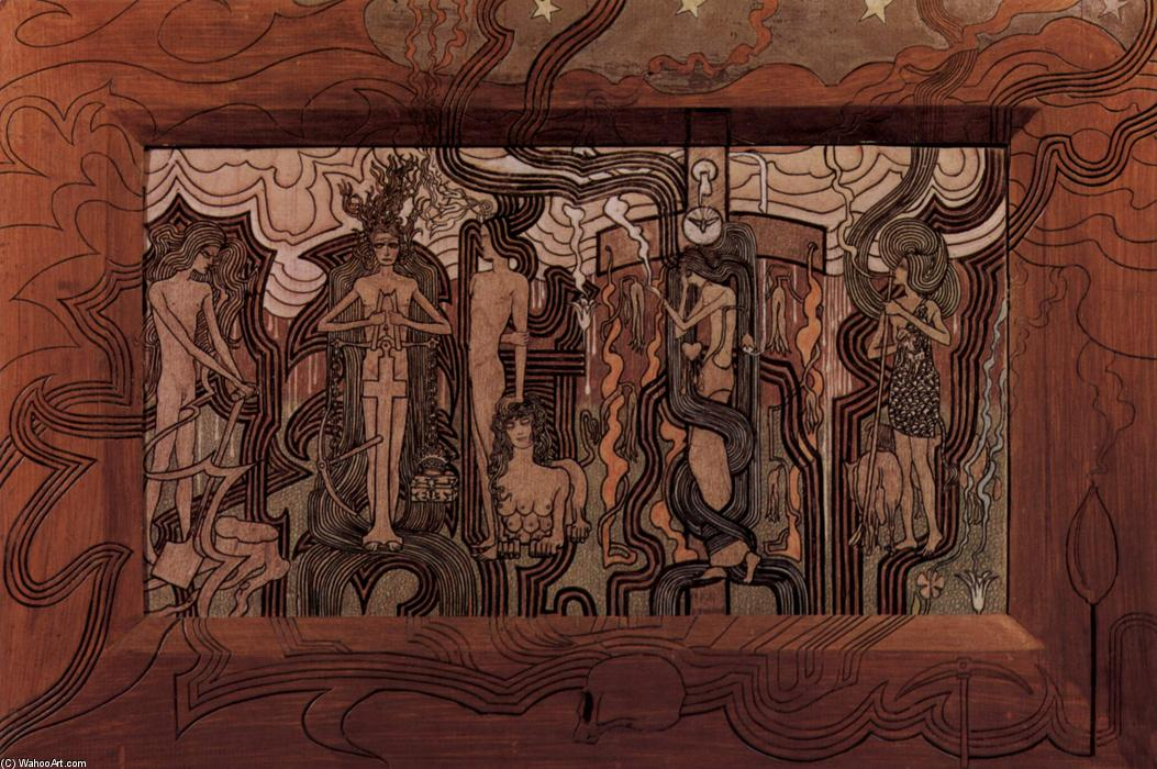 famous painting Song of the Times of Jean Theodoor Toorop